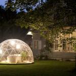 Véranda mobile 10 m2 pour ce Garden Igloo, léger et facile à monter et à démonter – 499 € www.lapadd.com