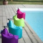 Minisit garnissage billes de polystyrène. Dimensions 400 x 450 24,90 € – www.jardin-prive.fr