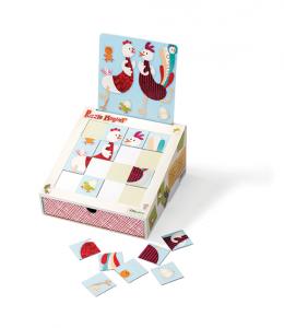 Puzzle magnétique LILLIPUTIENS – 19,99 € C'est ma maison,306 rue de Bourgogne
