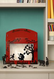 Théâtre d'ombres COCO D'EN HAUT 47 € – Au petit magasin bleu, 69 rue du Faubourg Bannier